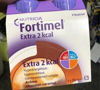 Fortimel extra 2kcal choco caramel - Produit - fr