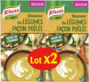Knorr Soupe Douceur de Légumes Façon Poêlée 1l Lot x 2 - Produit