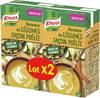 Knorr Soupe Douceur de Légumes Façon Poêlée 1l Lot x 2 - Product