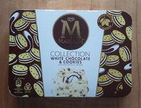 MAGNUM Glace Bâtonnet Chocolat Blanc & Cookies 4x90ml - Produkt - de