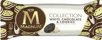 Magnum Bâtonnet Glace Chocolat Blanc & Cookies - Product - fr