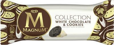 Bâtonnet Glace Chocolat Blanc & Cookies 90ml - Produit