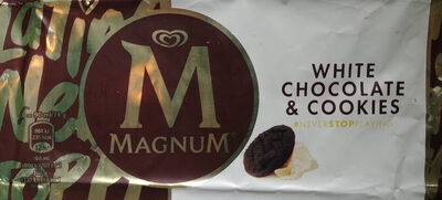 Magnum Bâtonnet Glace Chocolat Blanc & Cookies - Produkt - pl