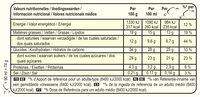 Magnum Bâtonnet Glace Chocolat Blanc & Cookies - Información nutricional - fr