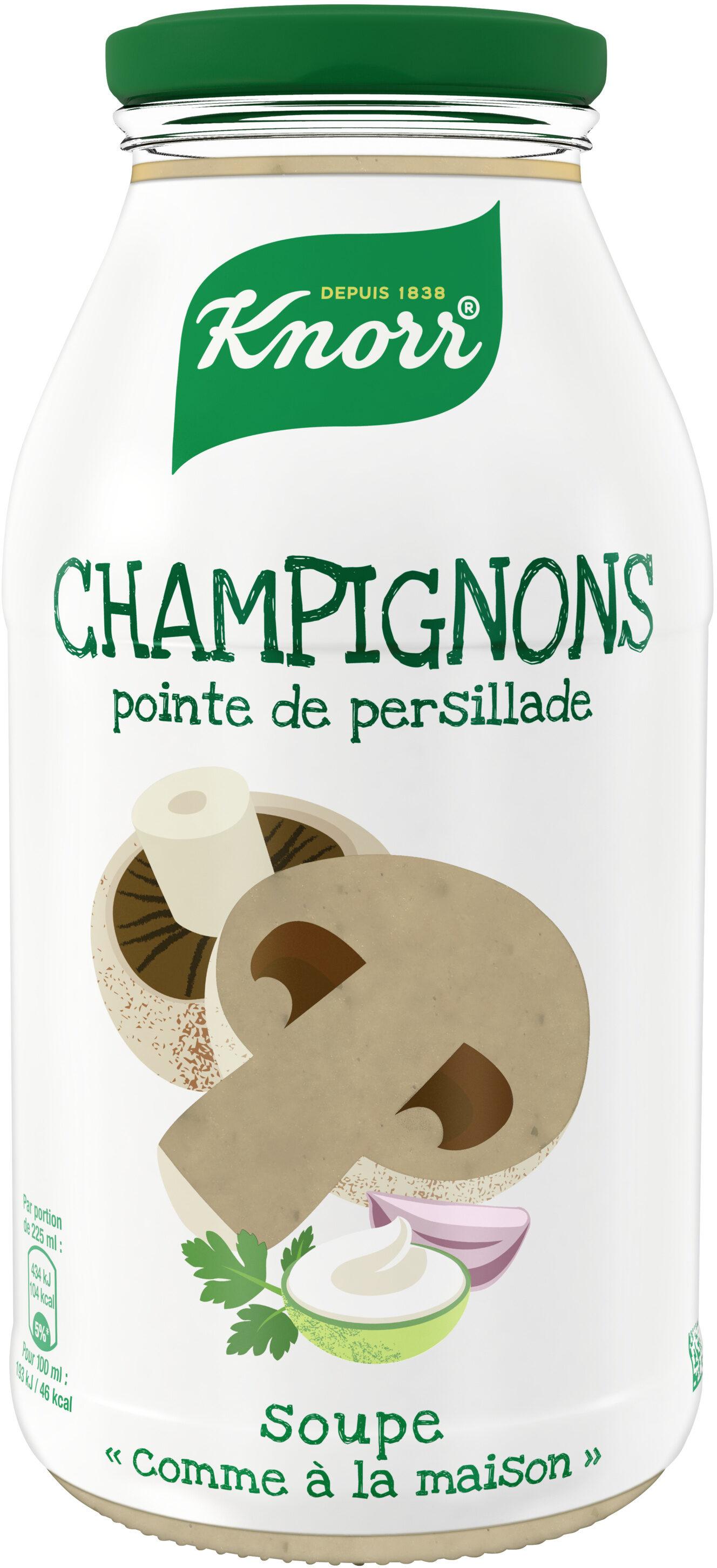 Knorr Soupe Bouteille Champignons & Pointe de Persillade - Producto - fr