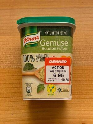 Gemüse Bouillon Pulver - Produit - fr
