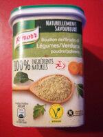 Gemüse Bouillon Pulver - Ingrédients - fr