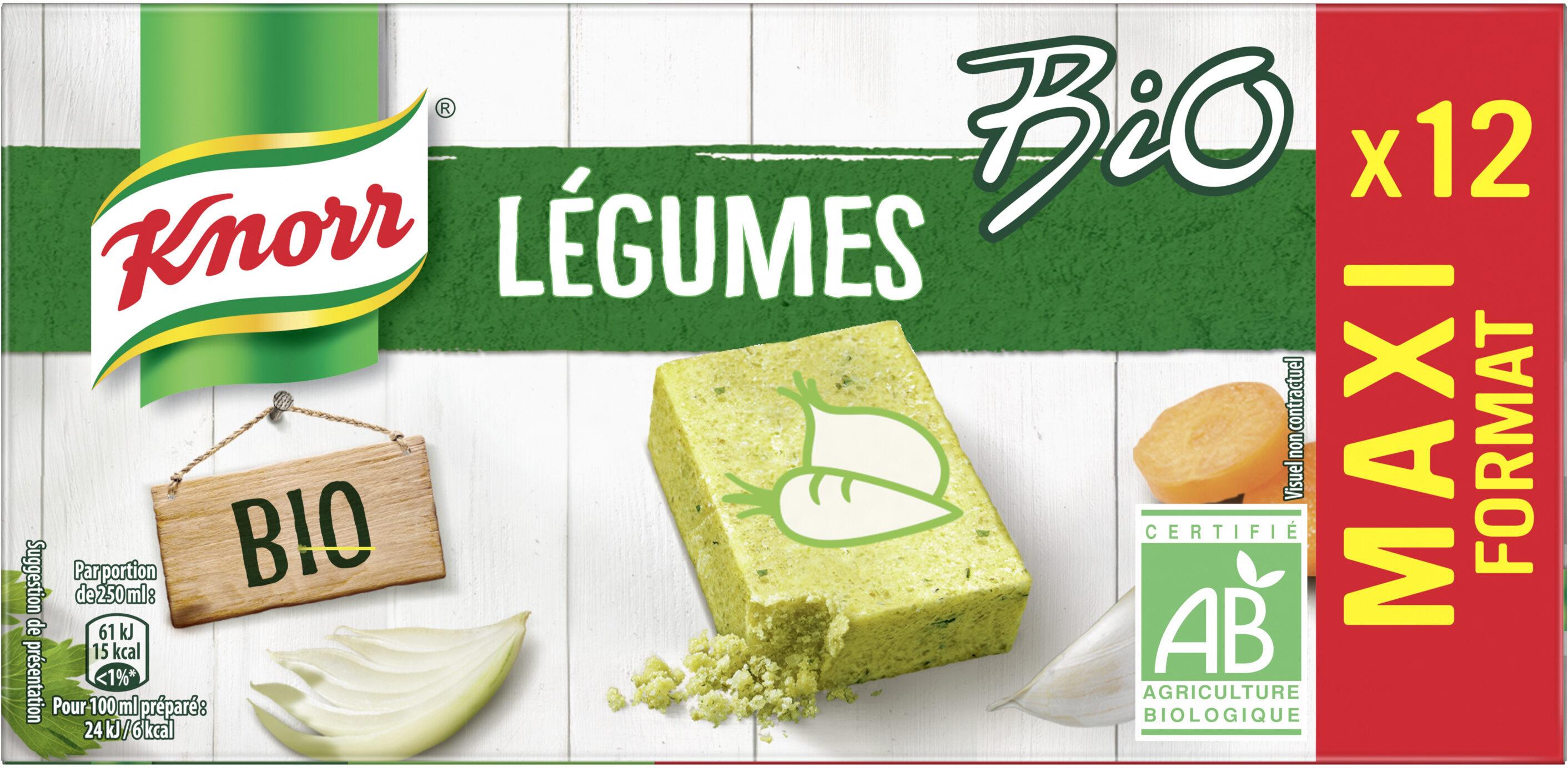 Knorr Bouillon Cubes Légumes Maxi Format 12 Cubes - Product - fr