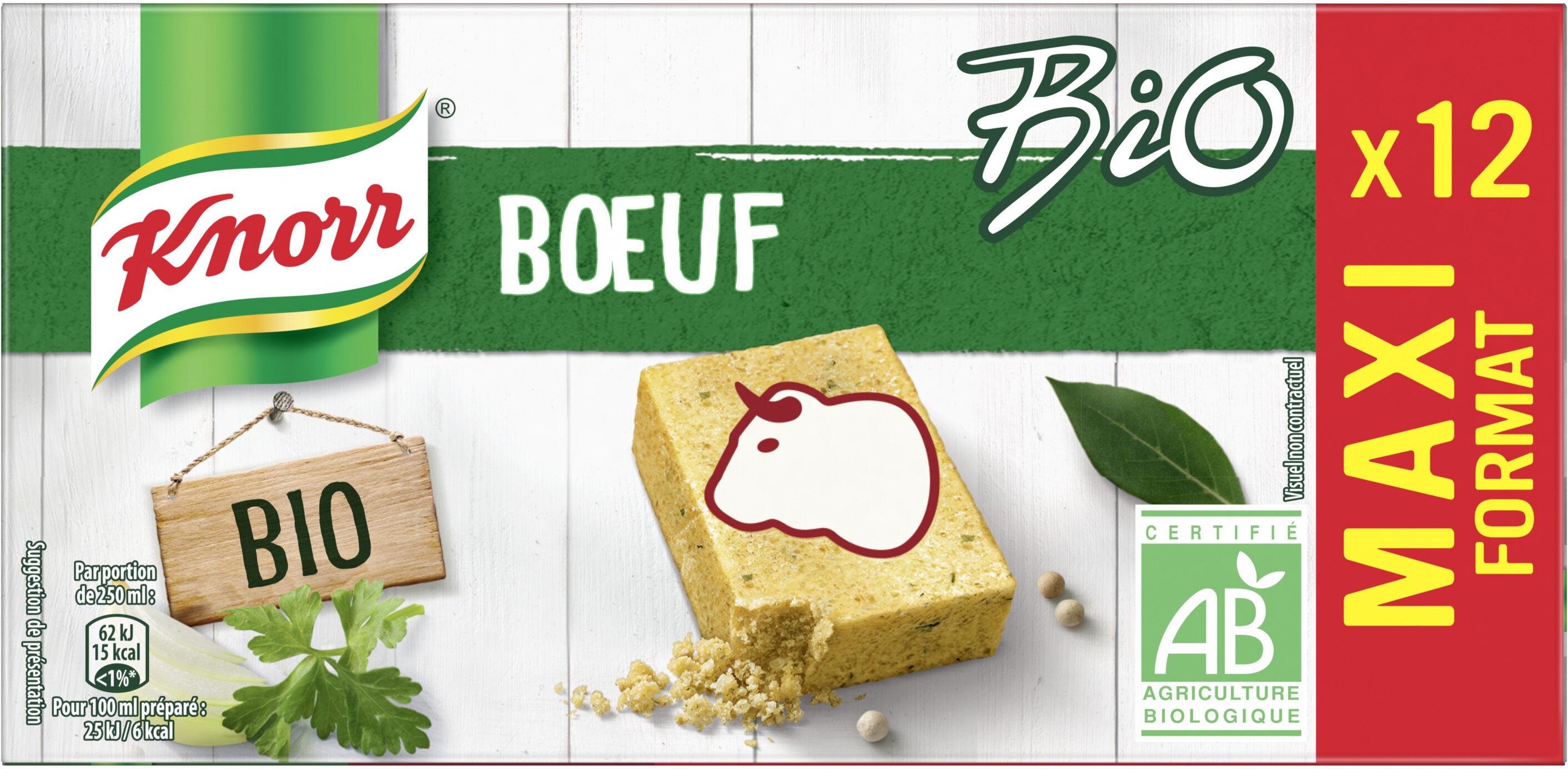Knorr Bouillon Cubes Boeuf Maxi Format 12 Cubes - Produit - fr