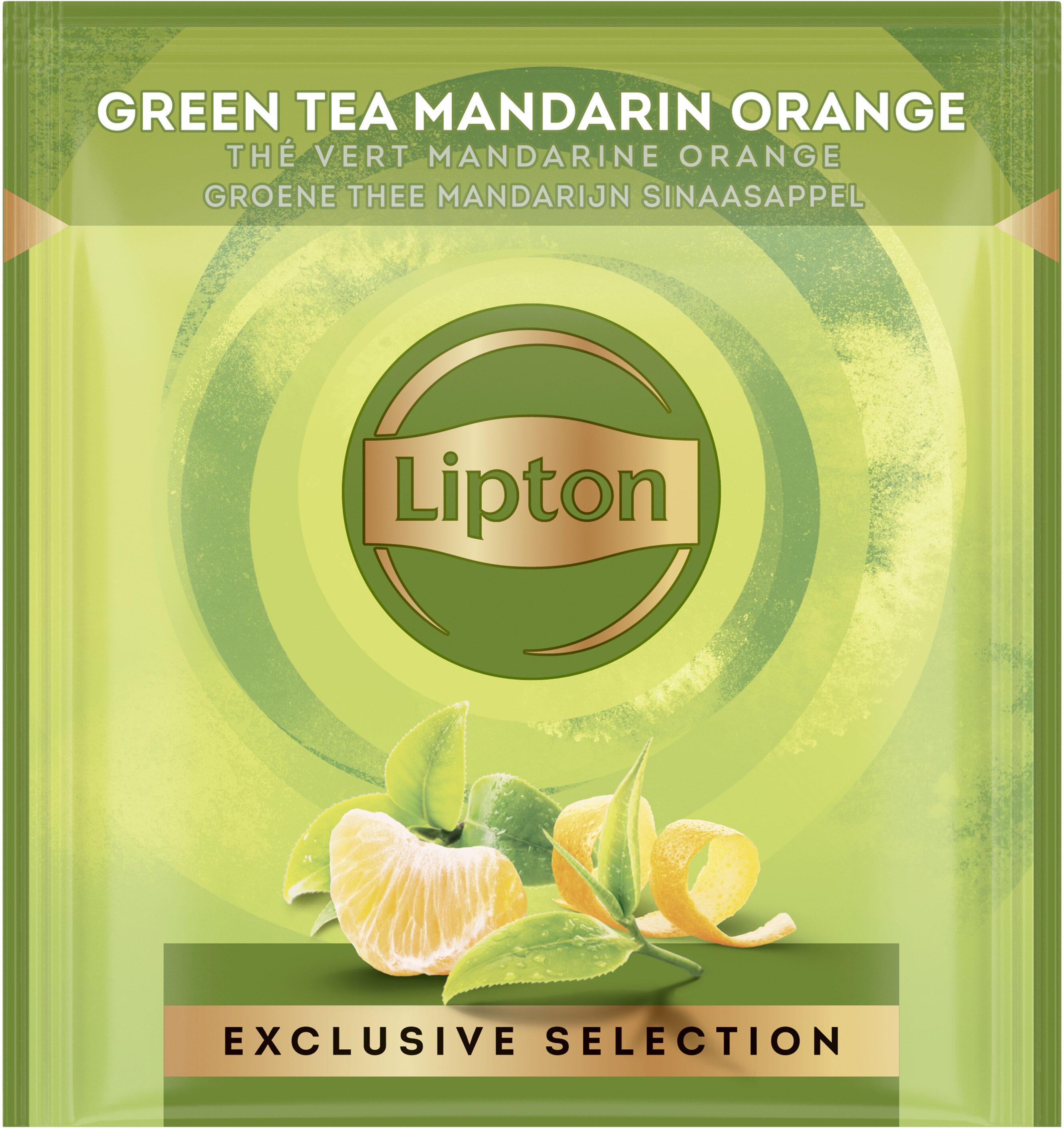 Lipton Exclusive Selection Thé vert Mandarine Orange 25 sachets pyramides - Prodotto - fr