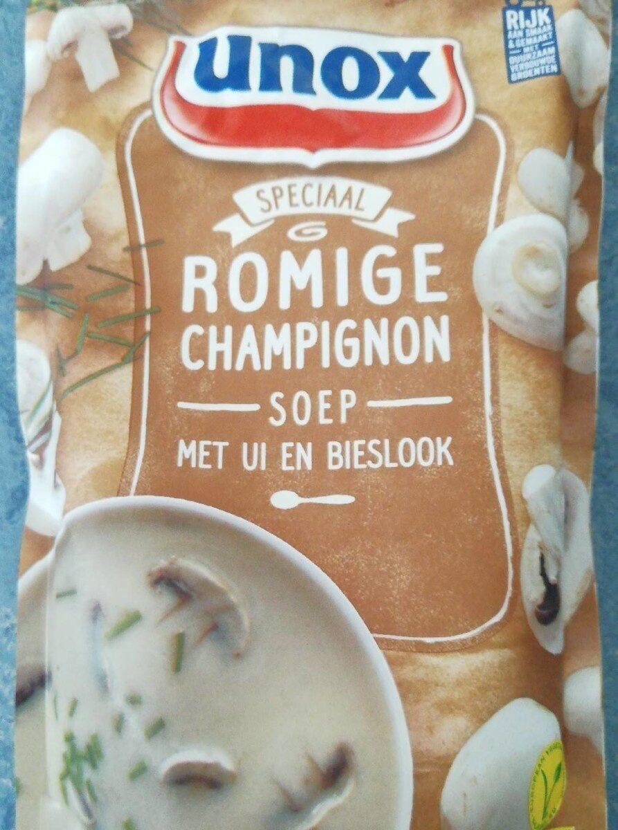 Romige champignonsoep met ui en bieslook - Product - fr