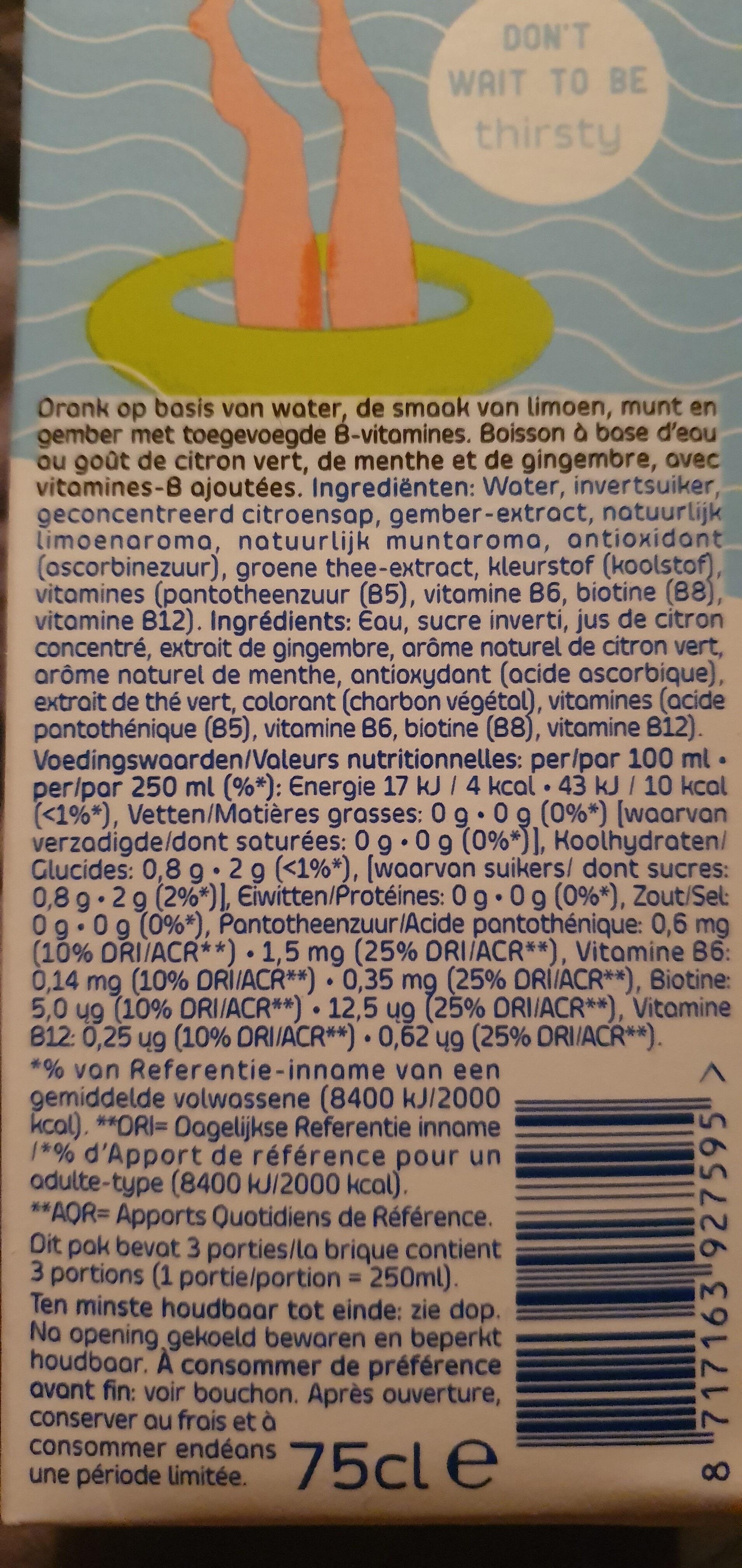 Better Water Charcoal - Ingrediënten - nl
