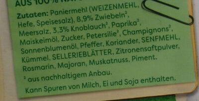 Linsen-Frikadellen - Ingredients