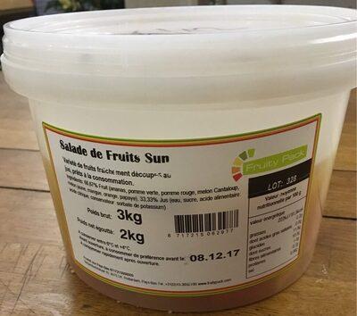 Salade de fruits Sun - Produit