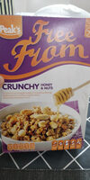 free from. crunchy honey nuts - Product