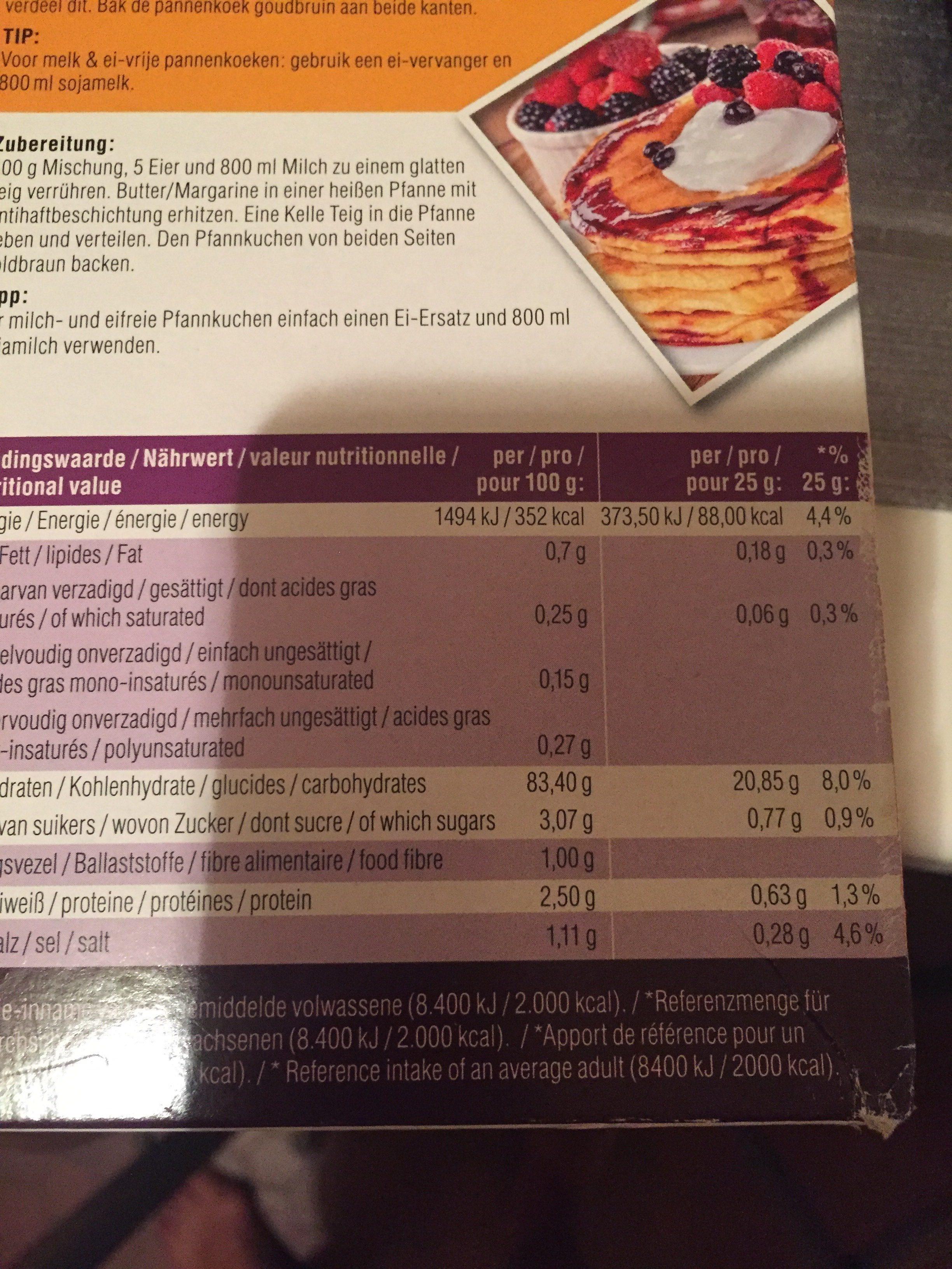 Glutenvrij - Ingrédients - fr