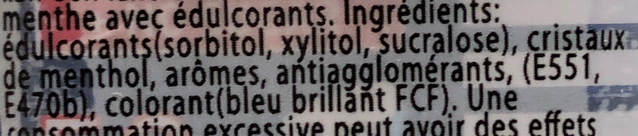 Hiker's mint - Ingredients - fr