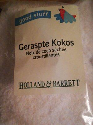 Noix de coco séchée - Product