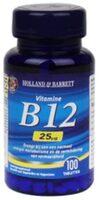 Holland & Barrett Vitamine B12, 25mcg (100 Tabletten) - Product