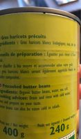 Gros haricots blancs - Ingredients