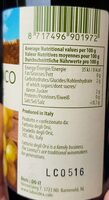 Condimento bianco - Voedingswaarden - nl