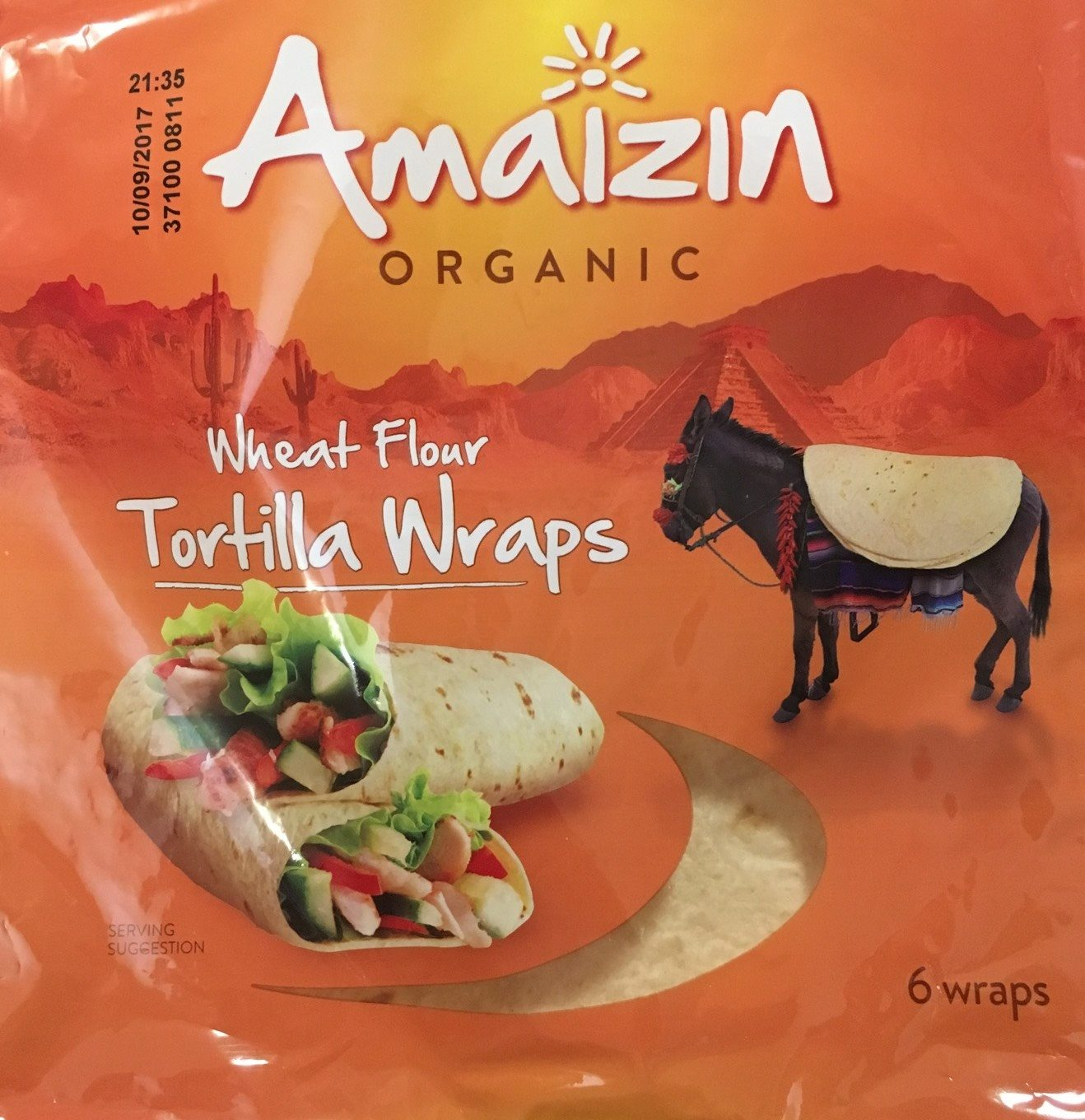 Wheat Flour Tortilla Wraps - Produit