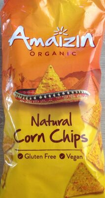 Natural corn chips - Producte