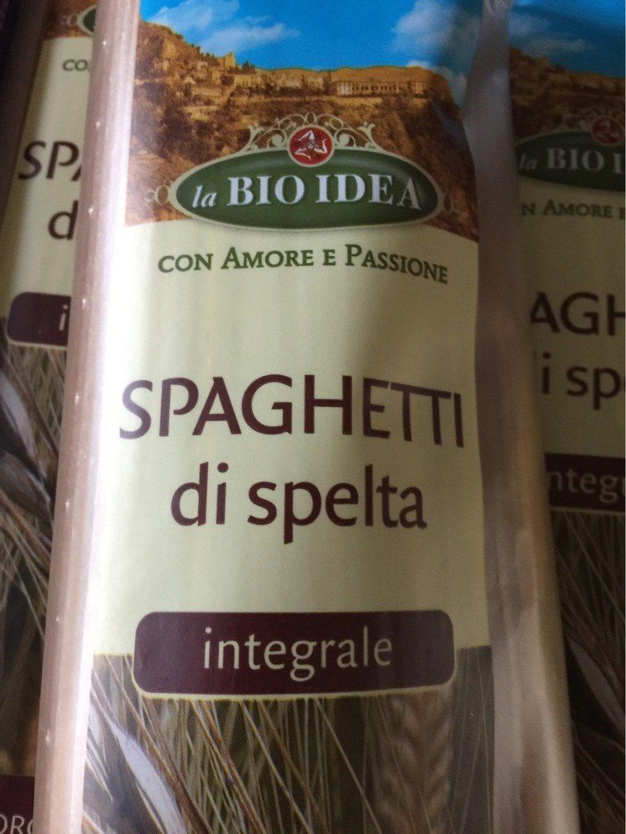 Spaghetti di spelta  integrale - Product