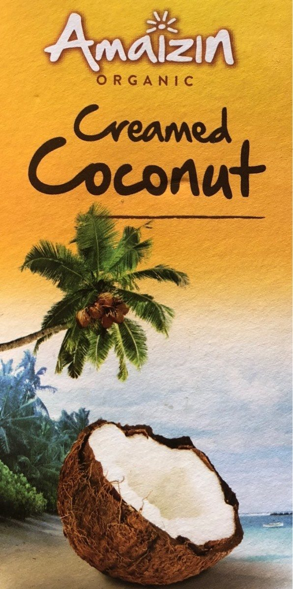Creamed coconut - Product - fr