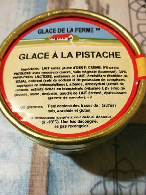 Glace à la pistache - Ingrédients
