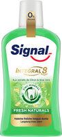 Signal Integral 8 Bain de Bouche Antibactérien Fraîcheur Naturelle aux Extraits de Citron & d'Aloe Vera Flacon - Prodotto - fr