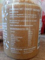 pindakaas met crunchy hazelnoot - Product - nl