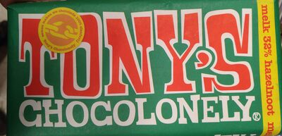 Tony's Chocolonely Melk Hazelnoot - Product - nl