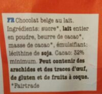 Tony's chocolonely - Ingredients - fr