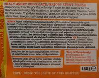 Tony's chocolonely - Ingredients
