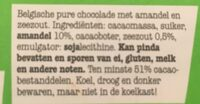 Puur 51% amandel zeezout - Ingredients