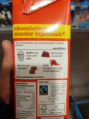 Chocolademelk - Ingredients - en