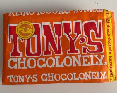 Tony's chocolonely salted caramel - Prodotto - de