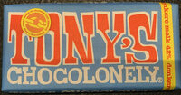 Tonny's Chocolonely donkere melk 42% - Product - nl