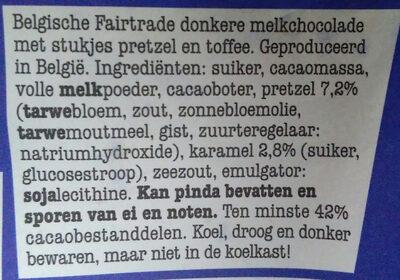 Tony's Chocolonely - Ingrediënten - nl