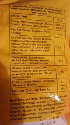 Oignons Frits 400GR Royal Thai - Ingrediënten