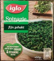 Spinazie fijn gehakt - Product - nl