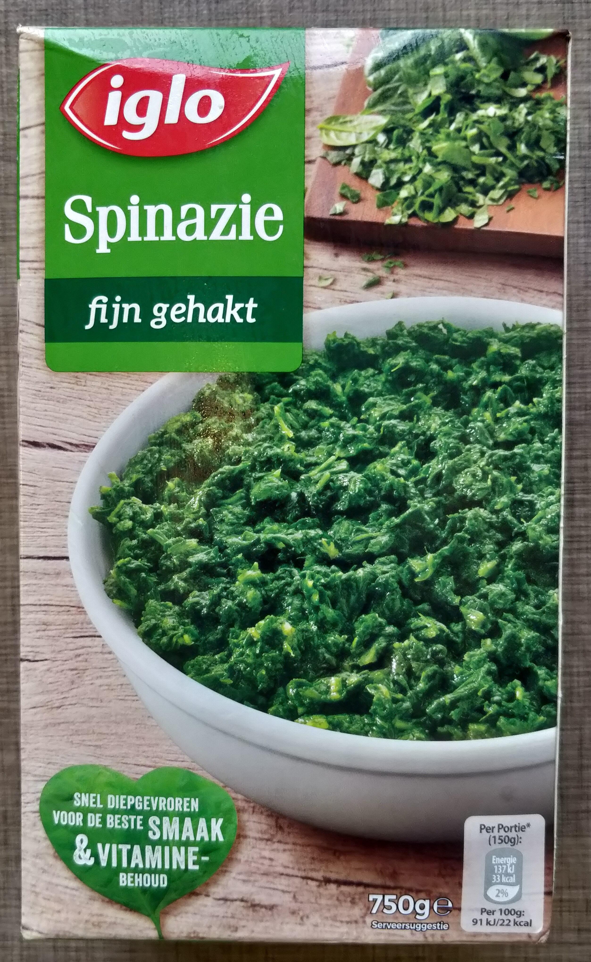 Spinazie, fijn gehakt, deelblokjes - Product - nl
