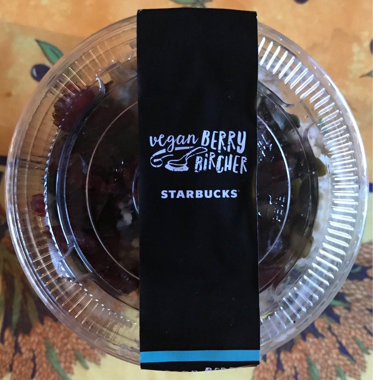 Vegan Berry Bircher Starbucks
