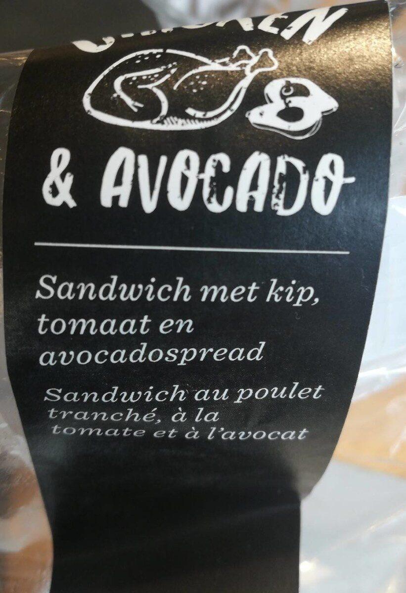 Sandwich poulet avocat - Product - fr