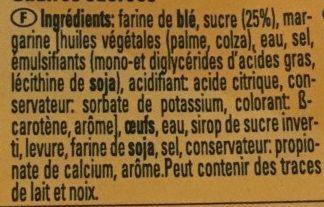 Gaufres Sucrées - Ingrediënten