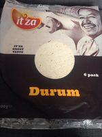 Durum Wraps - Produit