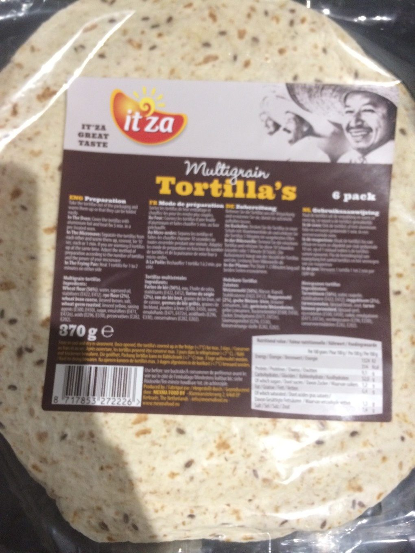 Tortilla's - Produit - fr