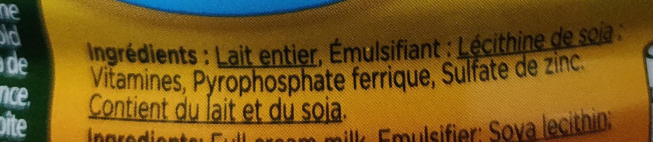 Nido - Ingredienti - fr