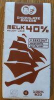 Chocolat au lait 40% sel de mer - Product - nl